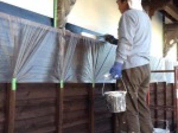 玉名市のI様邸、漆喰の塗装|熊本県玉名市の三井塗装の画像