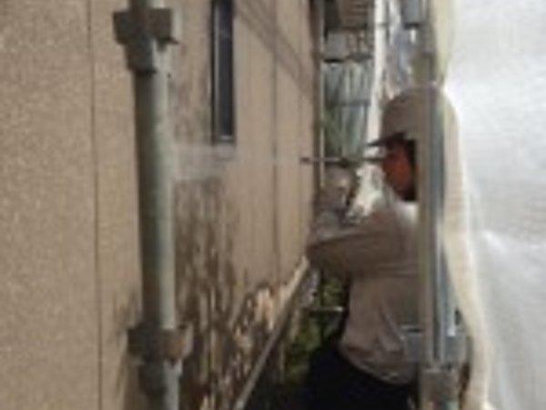 宇土市のK様邸、高圧洗浄|熊本県玉名市の三井塗装の画像